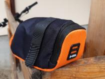 Geanta bicicleta - b-soul, portocaliu cu negru