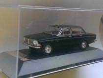 Macheta Volvo 144S negru 1967 - PremiumX 1/43
