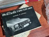 Carte Dacia 1300 franceza