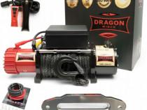 Troliu electric cablu sintetic DRAGON WINCH ST 12000lbs(5443