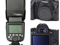 Kit Aparat Foto Canon 6D + Blitz Extern Godox TT685C