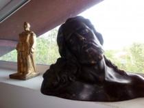 Statuie bronz masiv Isus 30 kg, 60x40x40