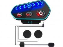 Casti Bluetooth 5.0 IP67 pentru motociclete SA75500004