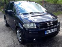Audi A2 1.4benzina 2001-cu fiscal