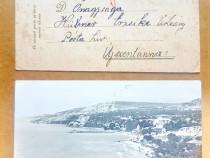 C474-I-Carta Postala Ferdinand Romania 1919 si Balcic tarm.