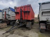 Remorca cereale agricola aluminiu 3 axe
