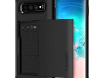 Husă Samsung Galaxy S10 - Spigen Slim Armor CS - negru