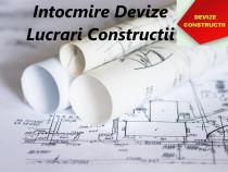 Intocmire Devize Constructii Oferte Licitatii SEAP SICAP