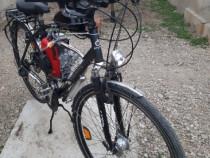 Bicicletă cu motor ăn 4t. pe benzină