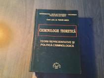 Criminologie teoretica de Tudor Amza