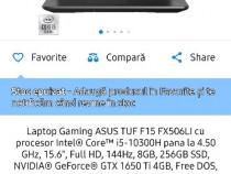 Laptop gaming Asus TUF f15 cu garanție