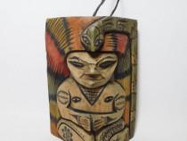 Statueta africana - Totem (cu sarpe)