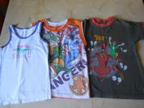 Lot trei tricouri pentru 4 - 5 ani