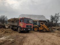 Demolari case Suceava, evacuam moloz