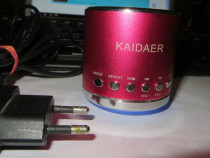 Kaidaer KD-MN-02 Mini Speaker Portabil FM/SD/USB/Mobil/PC