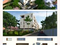 Băneasa/Jandarmeriei Apartament  3 camere, grădină