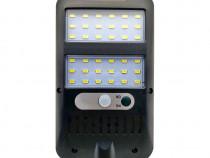 Lampa solara, 36 LED Cob, Panou solar,Senzor de miscare c559
