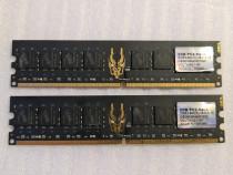 Memorie RAM GeIL Black Dragon (2x2GB) DDR2, 800MHz, PC2-6400