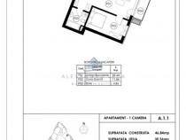 TOMIS PARK - Studio Faza I - Euromaterna apartament 2 cam.