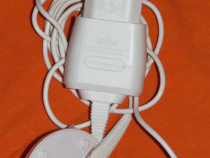 Alimentator pentru epilator Braun model 5 210 12V 400 mA 7W