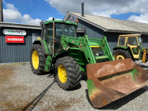Tractor John Deere 6610 cu Incarcator