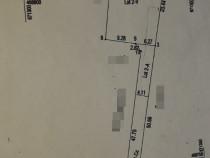 Teren zona Liceul Unirea, S= 622 mp.