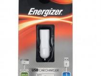 Incarcator auto + cablu de date Energizer iphone / iPod