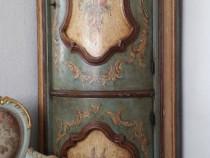 Dulap comoda mobila baroc venetian,vintage antica,pictata
