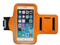 Husa telefon MRG M592, Pentru brat, 4.7 inch Portocaliu C590