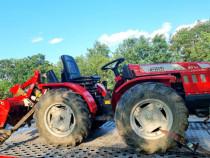 Tractoras 4x4 Antonio Carraro 31 cp cu freza