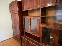 Biblioteca din lemn stratificat furniruit