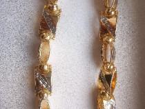 Lanț Versace placat cu aur