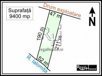 Gruiu - Lipia, teren extravilan 9400 mp
