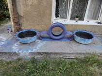 Cauciucuri decor pentru gradina