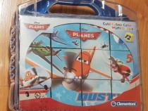 Puzzle cuburi Clementoni - Disney Planes (Avioane), 12 piese