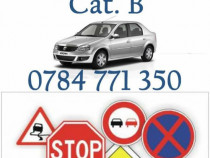 Instructor auto, cat. B, Scoala de soferi