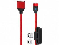 Adauga in whislist Cablu Date 3in1 Lightning MicroUSB Type