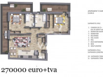 Cod P4407 - Apartament 3 camere LUX - 2 terase- Imobil 2022