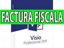 Licenta visio professional 2019 - factura fiscala, legal!