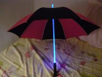 Umbrelă led,umbrele fibră optică luminoasă și lanternă noi