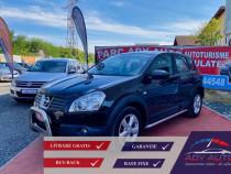 Nissan qashqai 2.0 - livrare - rate fixe - garantie