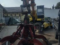 Excavator liebherr a 912 cu graifer