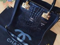 Geanta Chanel piele naturală 100%/model snake/Italia