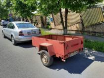 Remorca auto inmatriculata