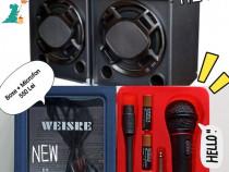Boxe bluetooth Temeisheng + Microfon Wireless karaoke