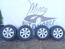 Set roti jante aliaj Volkswagen Touareg cu anvelope de iarna