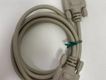Cablu serial RS232 DB9 mama - tata / 2m (18)