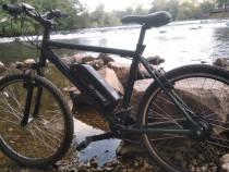 Bicicleta MTB electrica (350W, 12.5 AH, autonomie 50km)