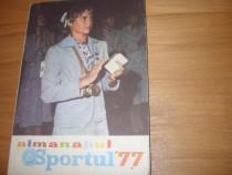 Almanah Sportul 1977 ( format mai mare, bogat ilustrat ) *