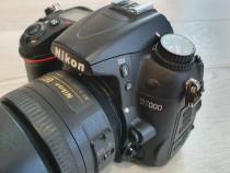 Nikon d7000 + obiectiv nikon 35mm f/1.8g af-s dx